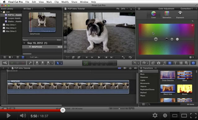 Intro - Final Cut Pro X