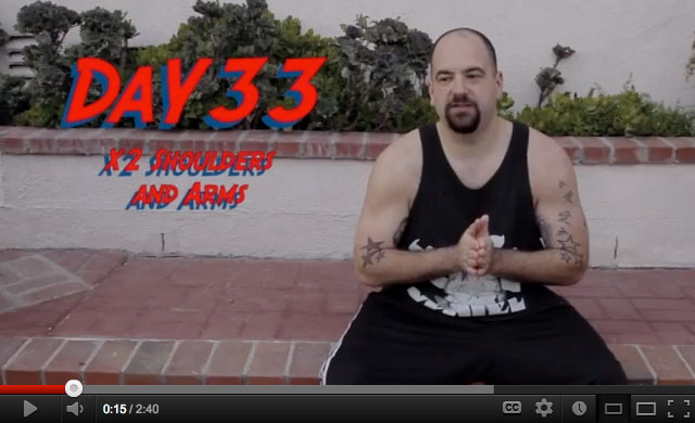 P90X Video Journal Day 33